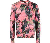 Sweatshirt mit Papageien-Print