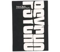 'Psycho' Clutch im Buchdesign