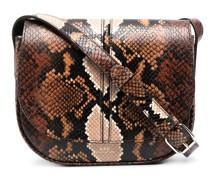 A.P.C. Satchel-Tasche mit Schlangen-Effekt