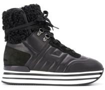 Sneaker-Boots mit Logo