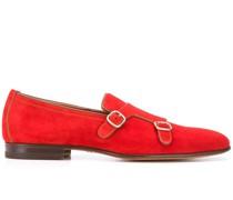 Flache Monk-Schuhe