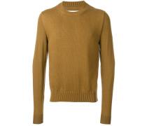 Pullover mit gestrickter Vorderseite