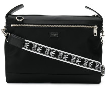 branded strap messenger bag