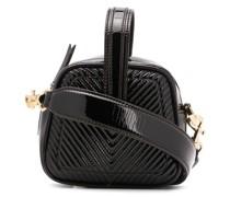 Mini-Tasche mit Zickzack-Steppung