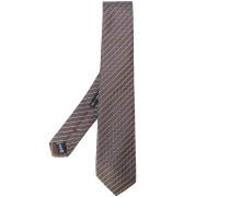 Gewebte Krawatte mit Streifenmuster