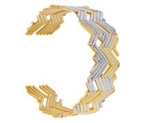 Armspange aus vergoldetem Sterlingsilber