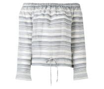 Schulterfreies Bluse - women - Seide/Baumwolle