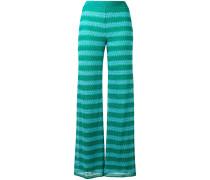 Lurex pants - women - Viskose - 38