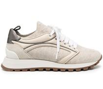 Bestickte Sneakers