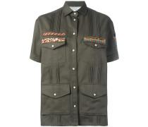 Besticktes Military-Hemd
