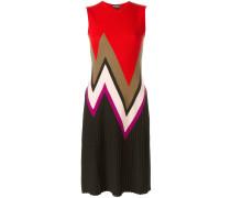 zig-zag knit dress