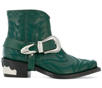 cow boy ankle boots