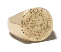 Ring im Münzen-Design