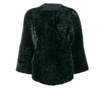 Cropped-Jacke aus Shearling