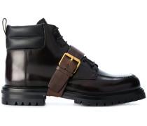 Garavani buckle strap boots