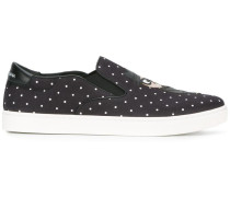 "Slip-On-Sneakers mit ""London Designer's""-Patch"