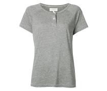 Klassisches Henley-T-Shirt