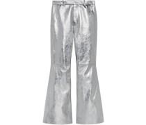 Ausgestellte Metallic-Hose