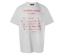 sponsor print T-shirt