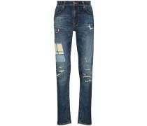 'Lean Dean' Jeans in Distressed-Optik
