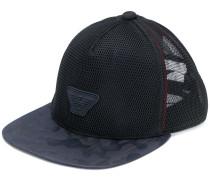 logo patch mesh cap