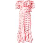 floral cold shoulder dress