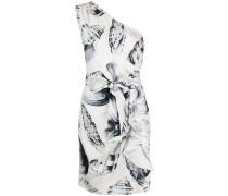 Kleid mit Muschel-Print