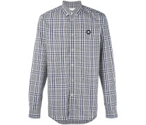 Kariertes Button-down-Hemd