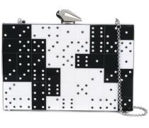 Clutch im Domino-Design