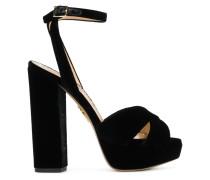 platform open-toe sandals