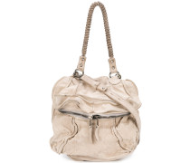 distressed-effect tote