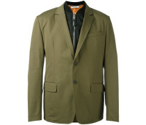 bomber layer blazer jacket