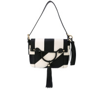 monochrome shoulder bag - women