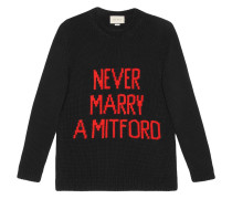 'Never marry a Mitford' Pullover