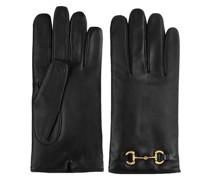 Handschuhe mit Horsebit-Detail