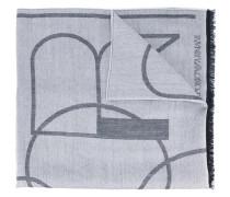 Schal mit Logo-Print