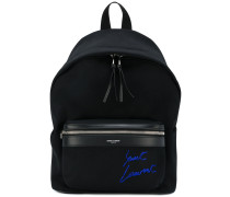 mini City embroidered backpack
