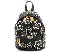 Rucksack mit Blüten-Applikation - women