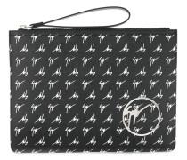 monogram clutch bag