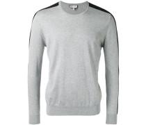 Pullover mit gestreiftem Ärmel