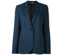one button blazer - women