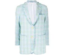 Tweed-Blazer aus Seersucker