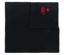 woven logo scarf