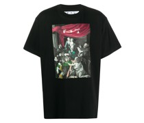 "T-Shirt mit ""Caravaggio""-Print"