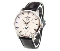 'Masterpiece Date GMT' analog watch