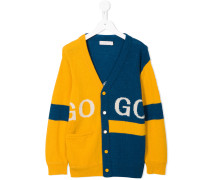 two-tone Go Go cardigan
