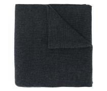 Gerippter Schal mit Logo