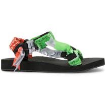 'Trekky' Sandalen mit Bandana-Riemen