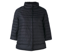 - three-quarters sleeve down jacket - women