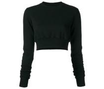 - Cropped-Pullover mit langen Ärmeln - women
